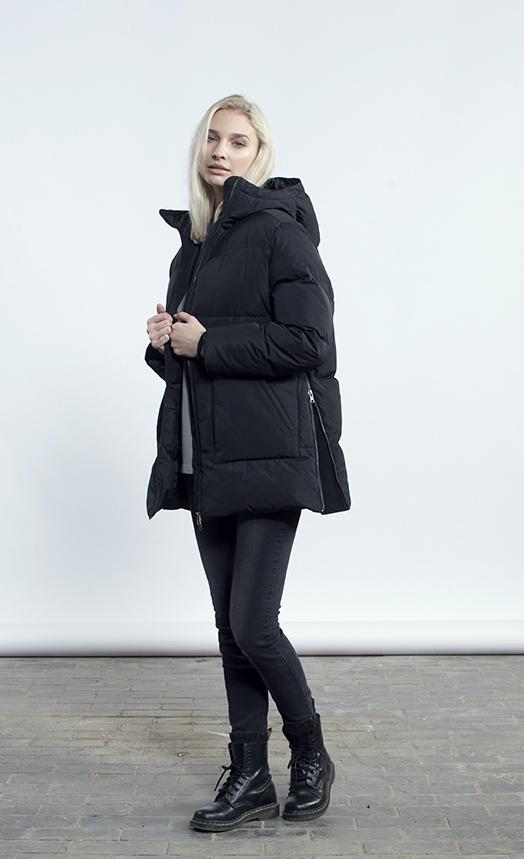 Charlie jacket, BLACK