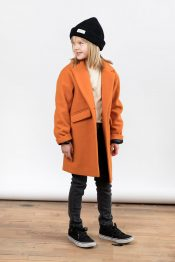 Bibbi wool coat