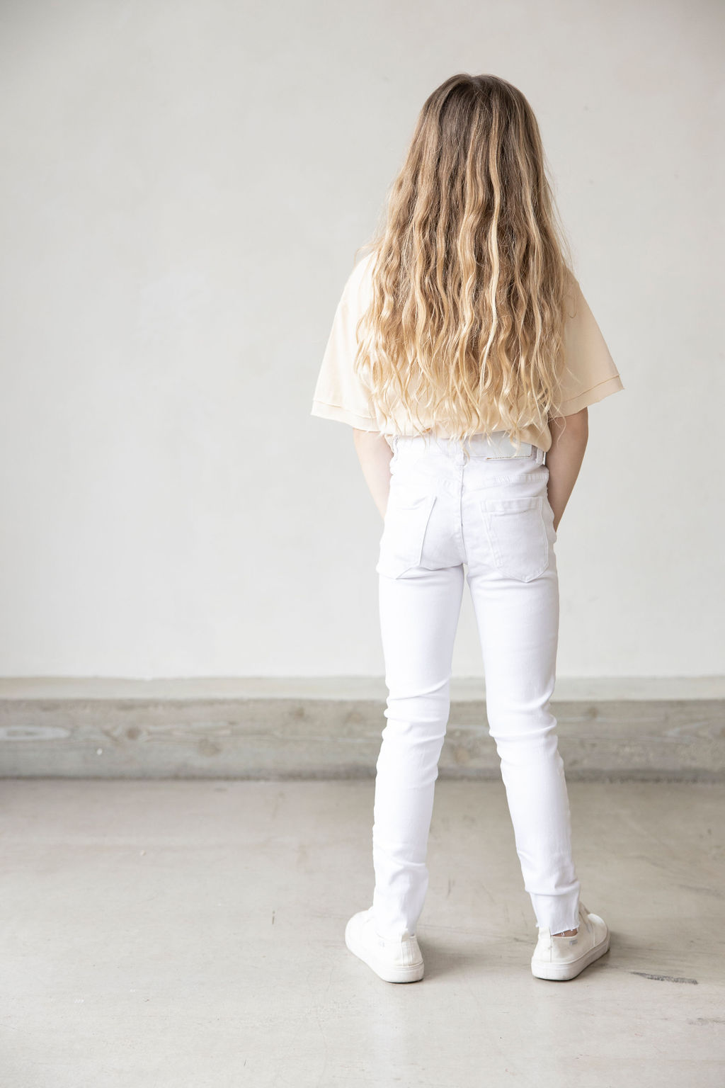 Madison high jeans, WHITE