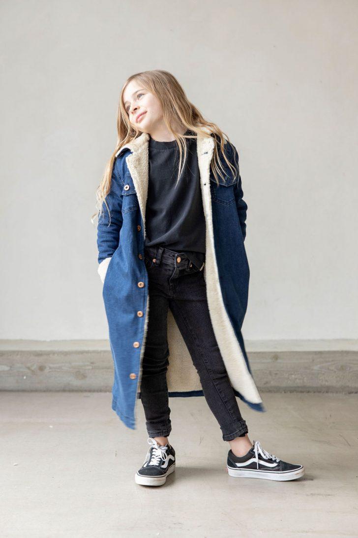 Judith denim coat