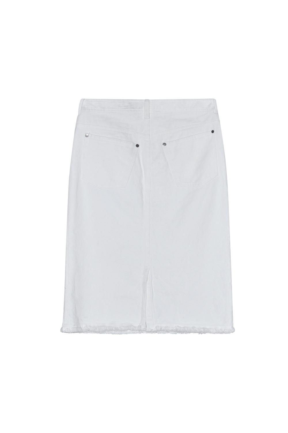 Ross denim skirt organic