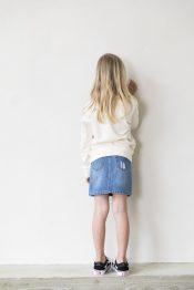 Livy denim skirt