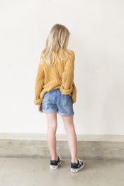 Lola denim shorts