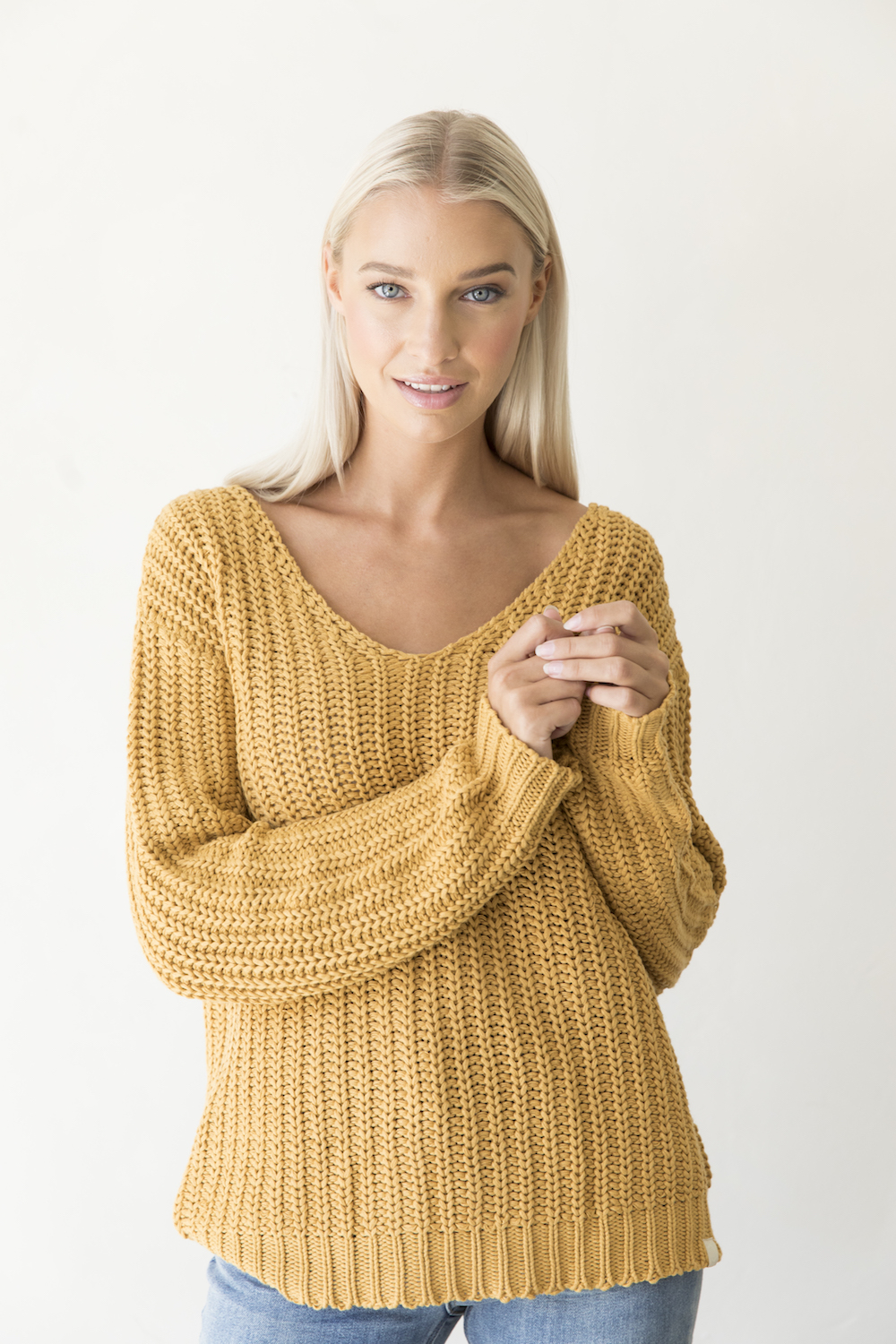 Tory knitted sweater organic