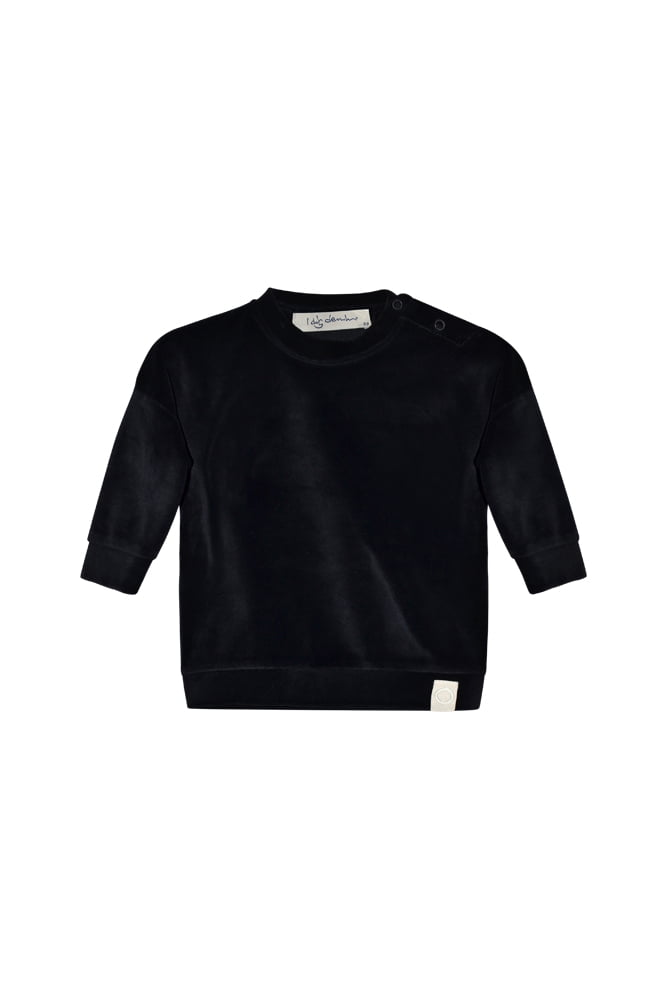 Ash velour sweater