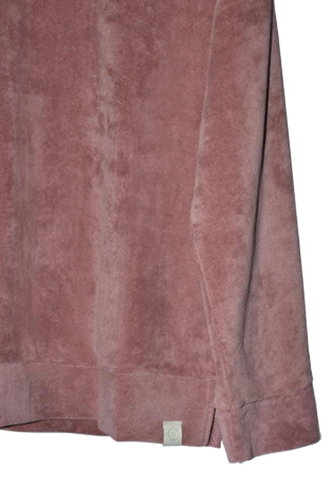 Ash velour sweater