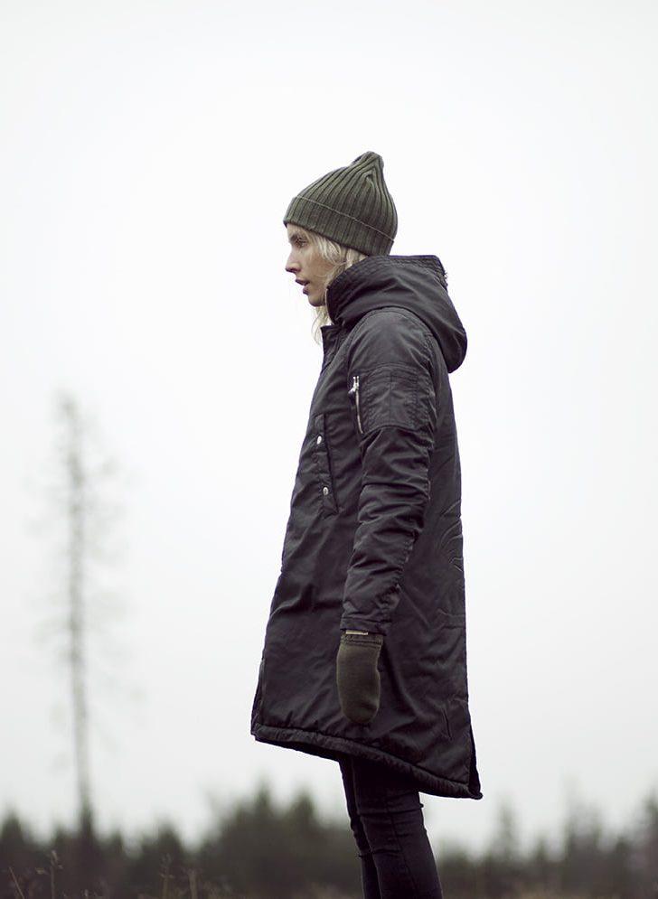 Lester jacket, black