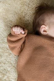 Mist knitted sweater organic