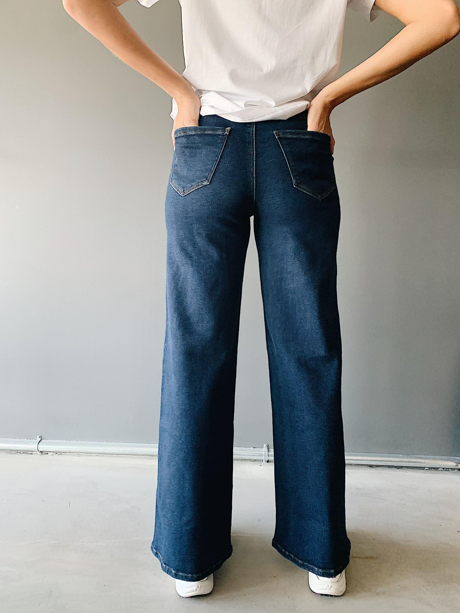 Harper wide jeans