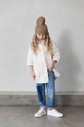 Timber denim shirt organic
