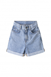 Mia high waist denim shorts