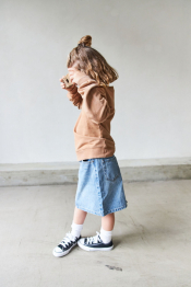 Doris denim skirt