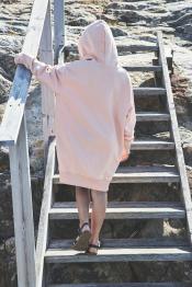 Morgan hoodie dress organic
