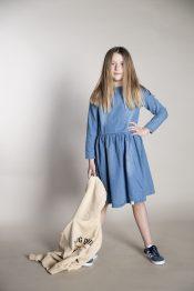 Lucie denim dress