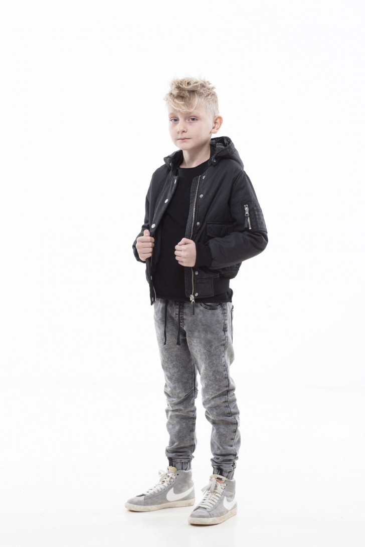 Leo jacket, Black